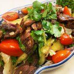 Yum Neau (Thai Grilled Beef Salad) @ Lanna Thai Canterbury