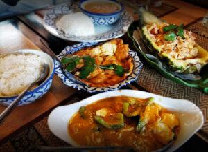 Delicious food at Lanna Thai Canterbury